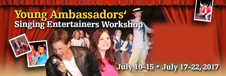 Young Ambassadors' Singing Entertainers Workshop